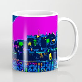 Edinburgh at Night Scotland Coffee Mug