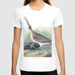 Hudsonian curlew, Birds of America, Audubon Plate 237 T-shirt