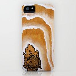 "Stan Matwychuk 12""x18""- Radiant Aurora iPhone Case"