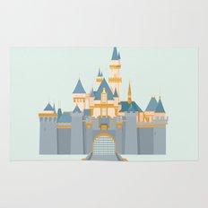 Sleeping Beauty Castle Rug