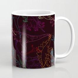 Psychedelic Dino Coffee Mug