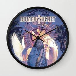 romeo + juliet (1996) poster  Wall Clock