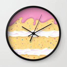 Confetti Cake Wall Clock