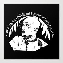 Sasha Velour 2 Canvas Print