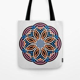 Celtic flower mandala Tote Bag