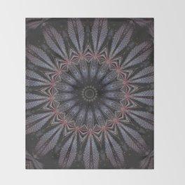 Purple Eye Throw Blanket