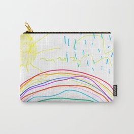Sushine after rain / Scary bird Carry-All Pouch