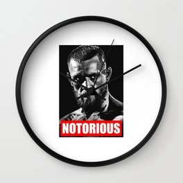 NOTORIOUS CONOR MCGREGOR Wall Clock