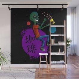 Galactic Soy Latte Wall Mural