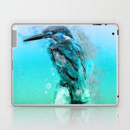 The colorful life of a King Fisher Laptop & iPad Skin