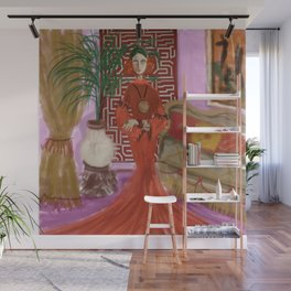 """""""MARUSHKA, HOME ON TUESDAY EVENING"""" Wall Mural"""