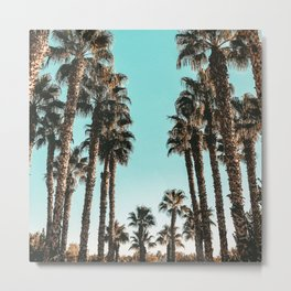 Palm Tree Days {1 of 2} Tropical Cali Art Print Metal Print