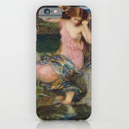 John William Waterhouse - Lamia 1909 iPhone Case