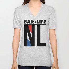NL Bar•Life Unisex V-Neck