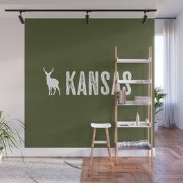 Deer: Kansas Wall Mural