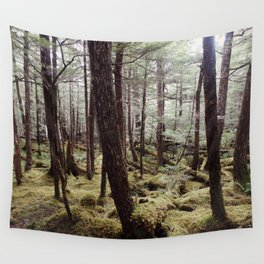 Tree gathering   Nature Photography Wall Tapestry