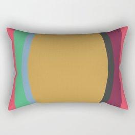 Cut Out Color Block #3 Rectangular Pillow