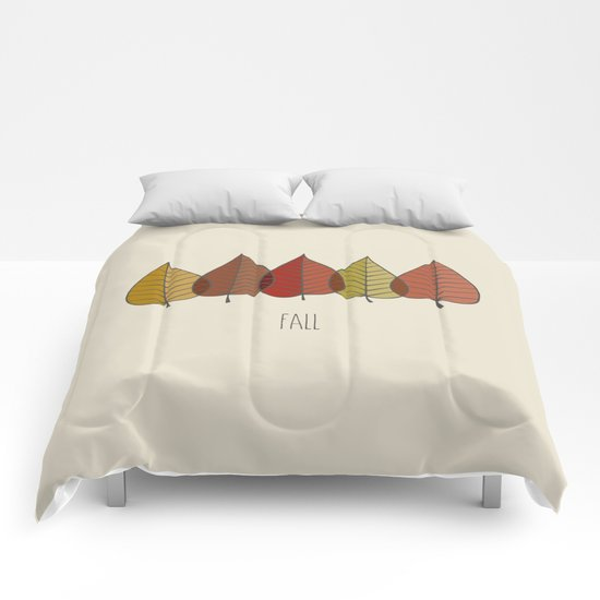 Fall Colours Comforters