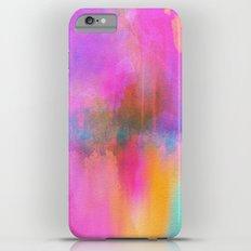 Rainbow Watercolor iPhone 6s Plus Slim Case