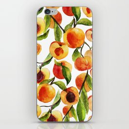 Passionate for peaches iPhone Skin