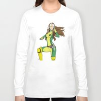 moulin rouge Long Sleeve T-shirts featuring Rouge by Atom Manhattan