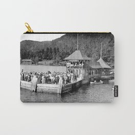Waiting at Silver Bay (1906) Carry-All Pouch