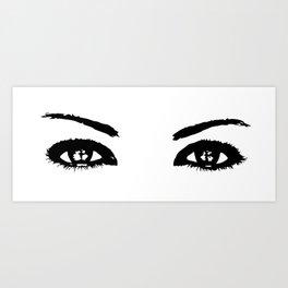 Her Eyes 4 Art Print
