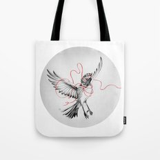 COURIER ROBIN Tote Bag