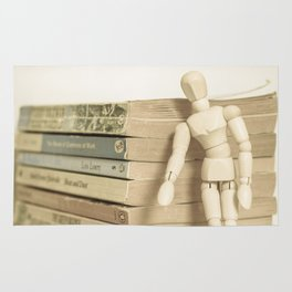 Little man books Rug