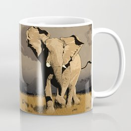 The Elephant's Marching Coffee Mug