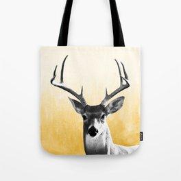 Deer Art Print Tote Bag