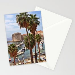 Old City, Dubrovnik, Croatia Stationery Cards