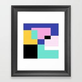 Tile Harmony Framed Art Print