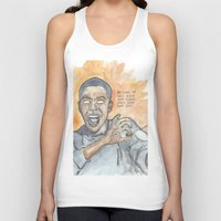 oitnb Tank Tops featuring Poussey OITNB by Ashley Rowe