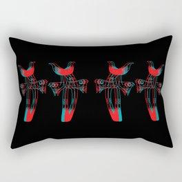 Tasse d'ombres: Rectangular Pillow