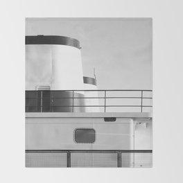 Washington state ferry Throw Blanket