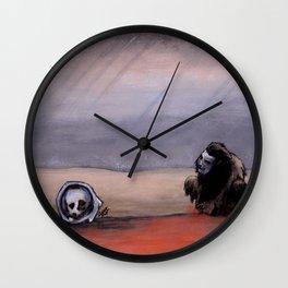 The Rust Coloured Soil: Thus Spoke Zarathustra Wall Clock