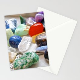 Crystals & Stones by the Window - The Peace Collection Stationery Cards