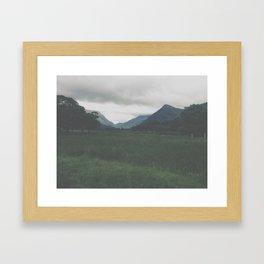 Wander. Framed Art Print