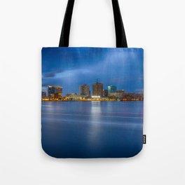 Norfolk Skyline Tote Bag
