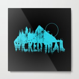 Wicked Trail Metal Print