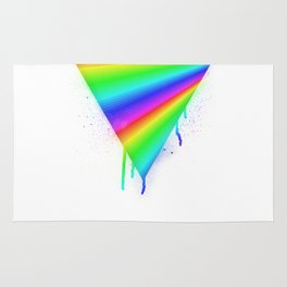 Dripping Rainbow Rug
