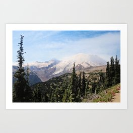 mountain vista Art Print