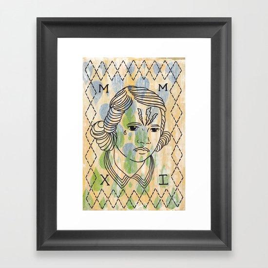 Gret Framed Art Print