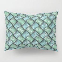 Patchwork Moire Silk Pillow Sham