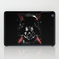 sith iPad Cases featuring Sith Lord (Red Sabers) by Li.Ro.Vi