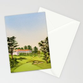 The Olympic Golf Course 18th Hole Stationery Cards