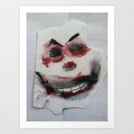 Mr. Kreepy D. Klown Art Print