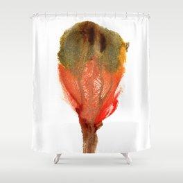 Ceren's Budding Flower Shower Curtain