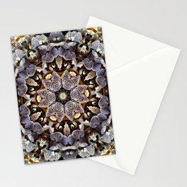 Mushroom Mandala 2 Stationery Cards